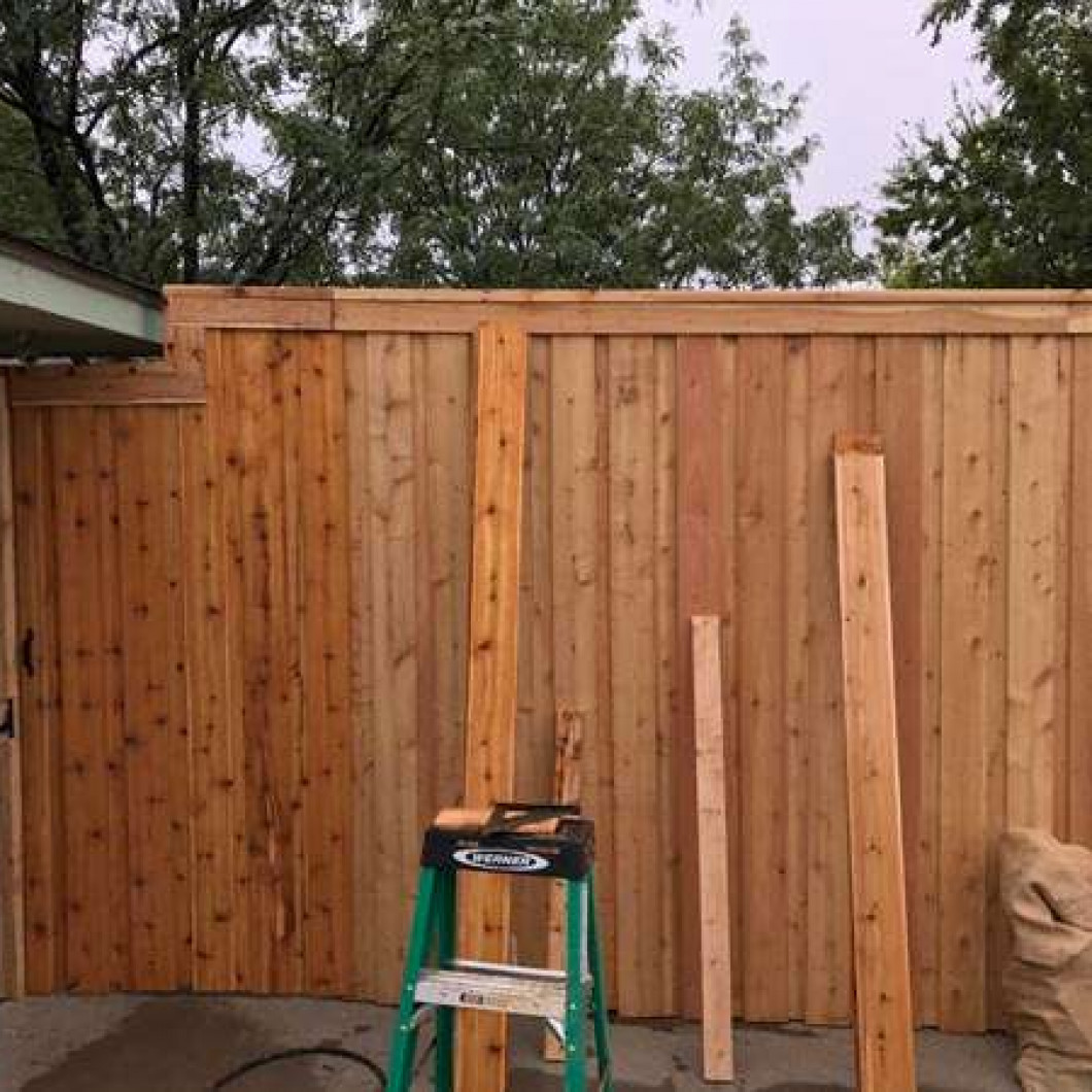 Select from a variety of fencing options